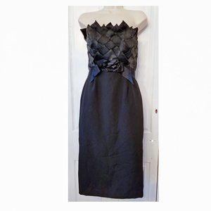 Vintage Victor Costa Cocktail Dress Black